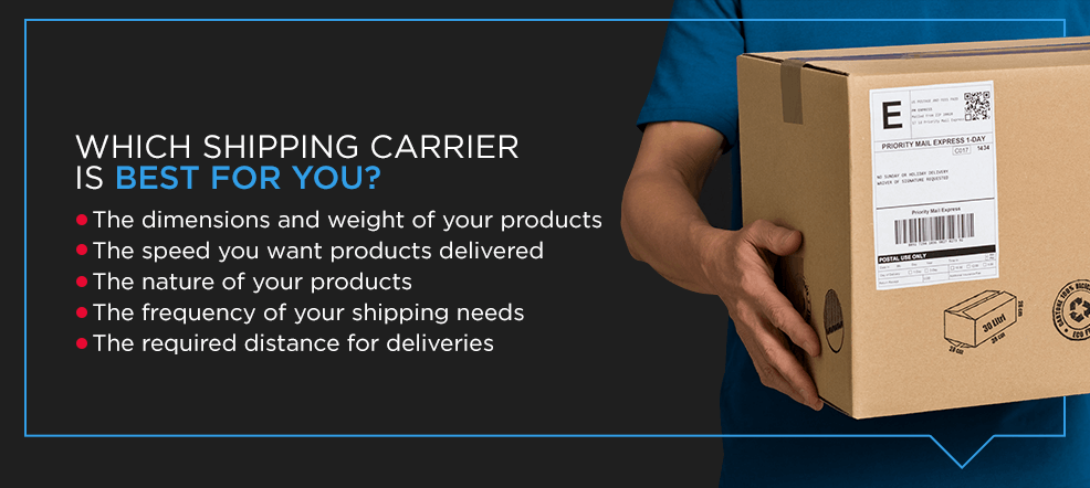best shipping courier